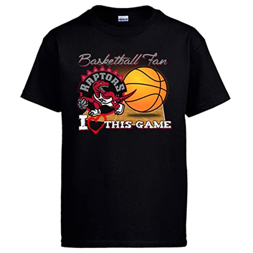 Camiseta NBA Toronto Raptors Baloncesto Basketball Fan I Love This Game: Amazon.es: Ropa y accesorios