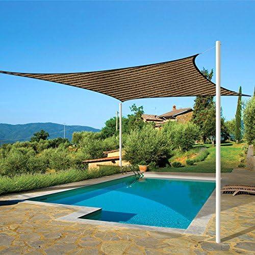 OriginA Panel de sombra de patio para pergola/invernaderos/coche/porche (2, 4 x 30 cm), diseño de café: Amazon.es: Jardín
