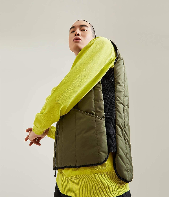 Smanicato e Impermeabile RefrigiWear Gilet Original Vest per Uomo Primaverile Trapuntato
