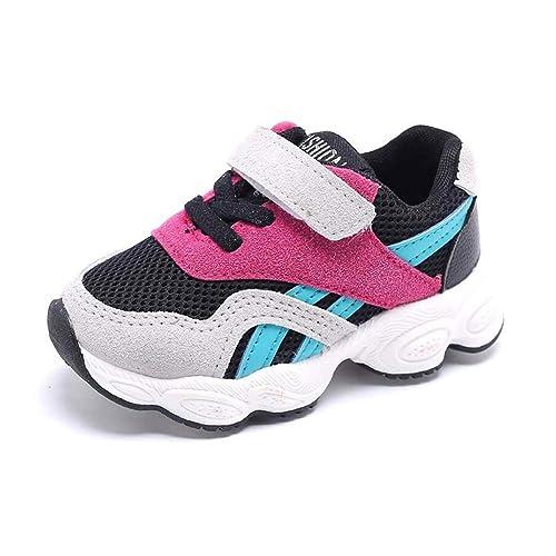 01e8e3759 Amazon.com | Daclay Kids Sneakers Fashion Letter Casual Light Mesh Comfortable  Sports Running Single Shoes | Running