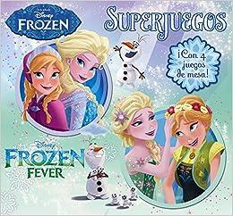 Frozen. Superjuegos: ¡Con 4 juegos de mesa! Disney. Frozen: Amazon.es: Disney, Editorial Planeta S. A.: Libros