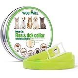 WOLFWILL Collar Antiparasitario para Perros contra Pulgas, Garrapatas y Mosquitos, 180 Days Effectiveness Protection