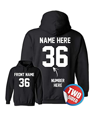 Custom Hoodies - Design Your Own Sweatshirts - Personalized Hoodys for Hockey