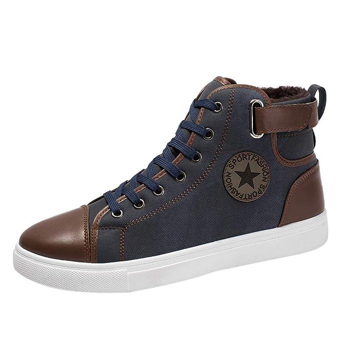 ❤ Zapatos causales para Hombre, más Botines de Terciopelo Zapatos Zapatos Altos Zapatos Boots Absolute: Amazon.es: Ropa y accesorios