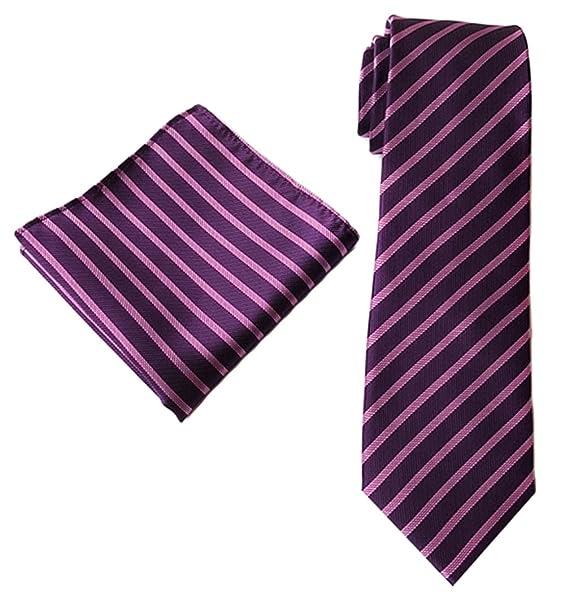 Amazon.com: mendeng hombre color mezclado de rayas traje de ...