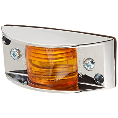 Grote 46893 Yellow Chrome-Armored Clearance Marker Light: Automotive
