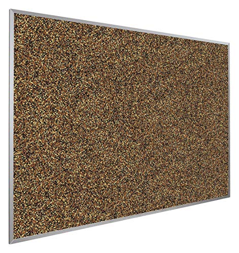 (Best-RITE Push-Pin Bulletin Board, Recycled Rubber, 18