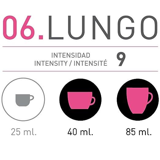 VIAGGIO ESPRESSO - 60 Cápsulas de Café Compatibles con Máquinas Nespresso - LUNGO: Amazon.es: Alimentación y bebidas