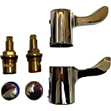 """The Plumbers Merchant 1/4 Turn Tap Lever Heads & 1/2"""" Inserts Reviver Kit Adaptor Conversion Bathroom"""