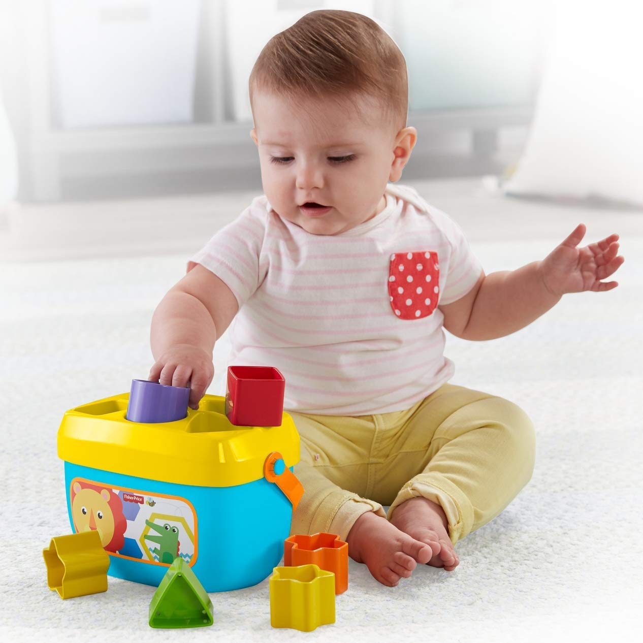 FisherPrice Baby First Blocks