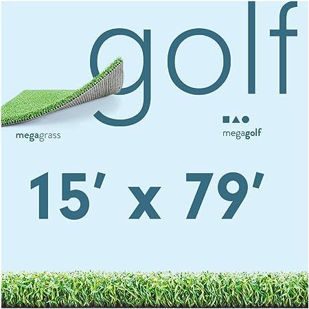 Amazon.com: Mega Grass - Rollo de césped artificial para ...