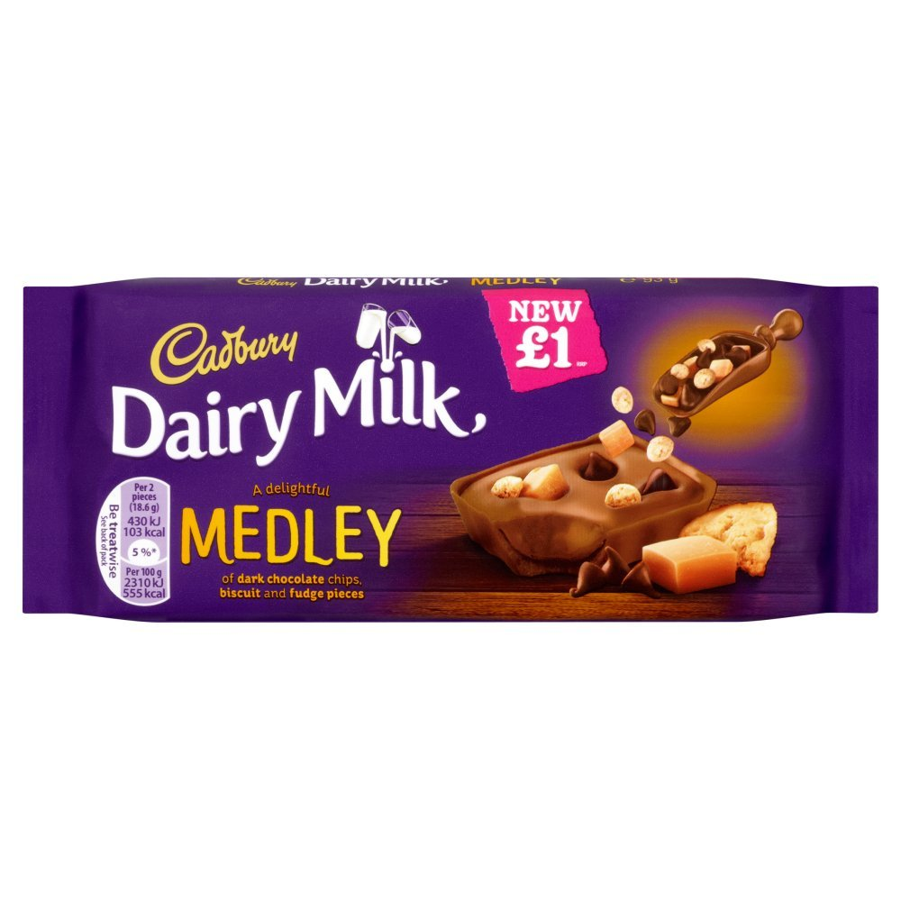 Cadbury (15 Pack) Medley Fudge Aº1 - 93G