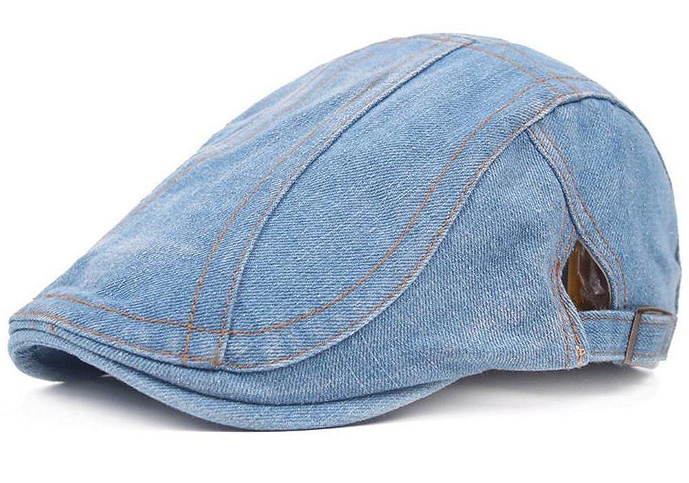 Leisial Retro Beret Hat Cap Visor Beanie Newsboy Cap Baker Men Boy Hat Visor Beret Summer Driving Hats for Men Women