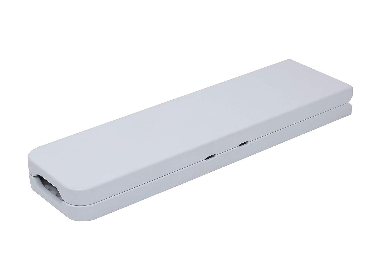 Banco-Plegable-Rectangular-180-x-28-x-43-cm-color-blanco-Tenco-TG183 miniatura 3