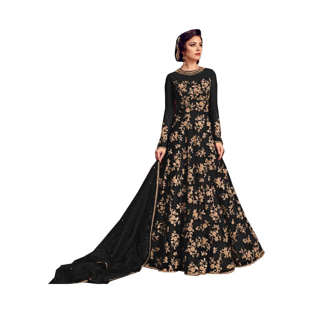 AMIT FASHIONS, Exclusivo diseñador Indio, Semi Puntada Traje de ...