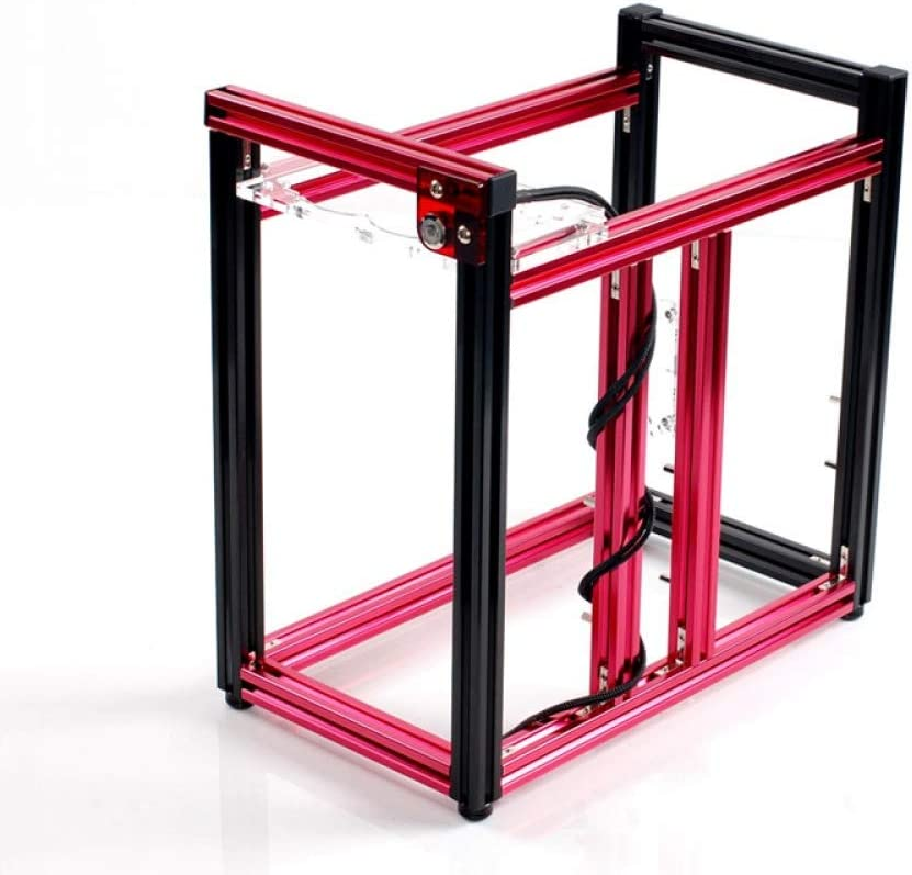 jinshuyu systemcabinetNew Product ATX//Micro ATX Aluminum Building Blocks of DIY Vertical Computer Chassis Cases