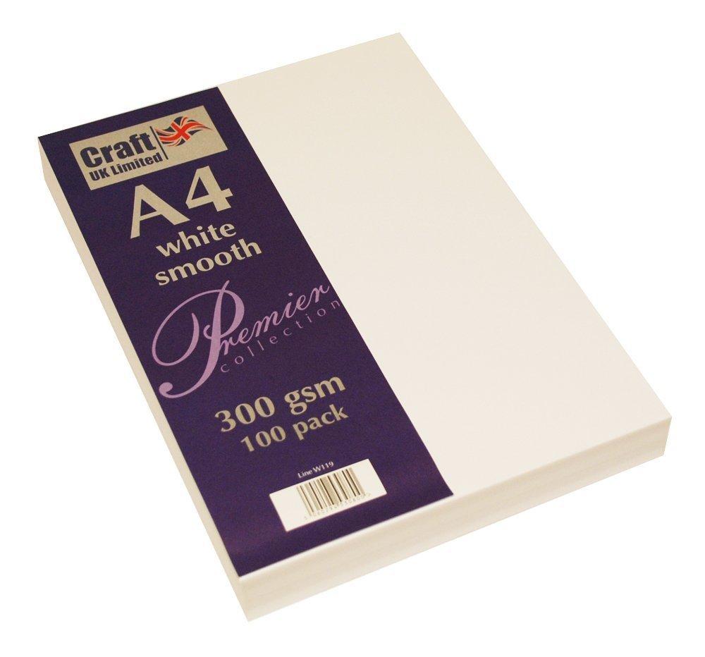 Craft UK Karton, A4, Elfenbeinweiß, gehämmert, glatt, 100 bis bis bis 500 Blatt, 300 g m², 5 Packungen B07FSRJTR6   Beliebte Empfehlung  82a97c