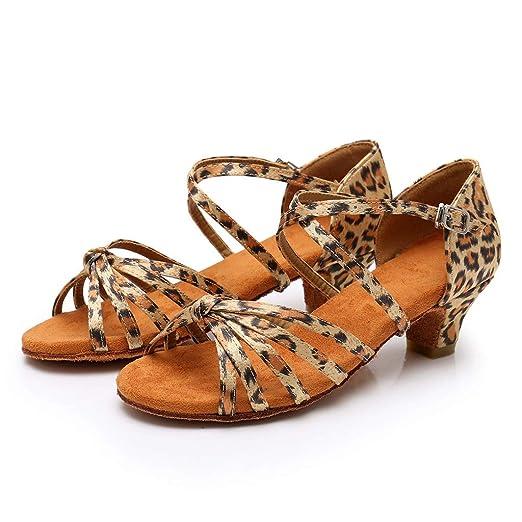Mealeaf ❤ Toddler Baby Kids Girls Princess Dancing Ballroom Tango Latin Shoes  Sandals 92b3e639dab3
