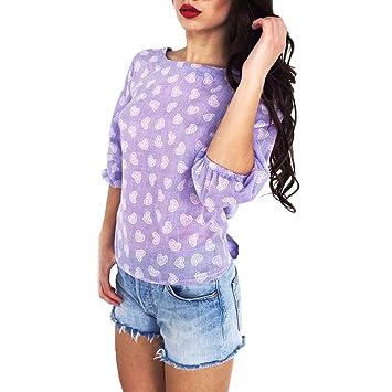 ZHRUI Backless Camisetas Personalizadas Camiseta Mujer Sudadera Blusa, Sexy Ver a través de túnica con