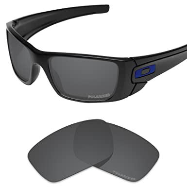 60f154b5be Tintart Performance Lenses Compatible with Oakley Fuel Cell Polarized  Etched-Carbon Black