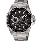 Casio Enticer Black Dial Men's Watch - MTD-1069D-1AVDF (A657)