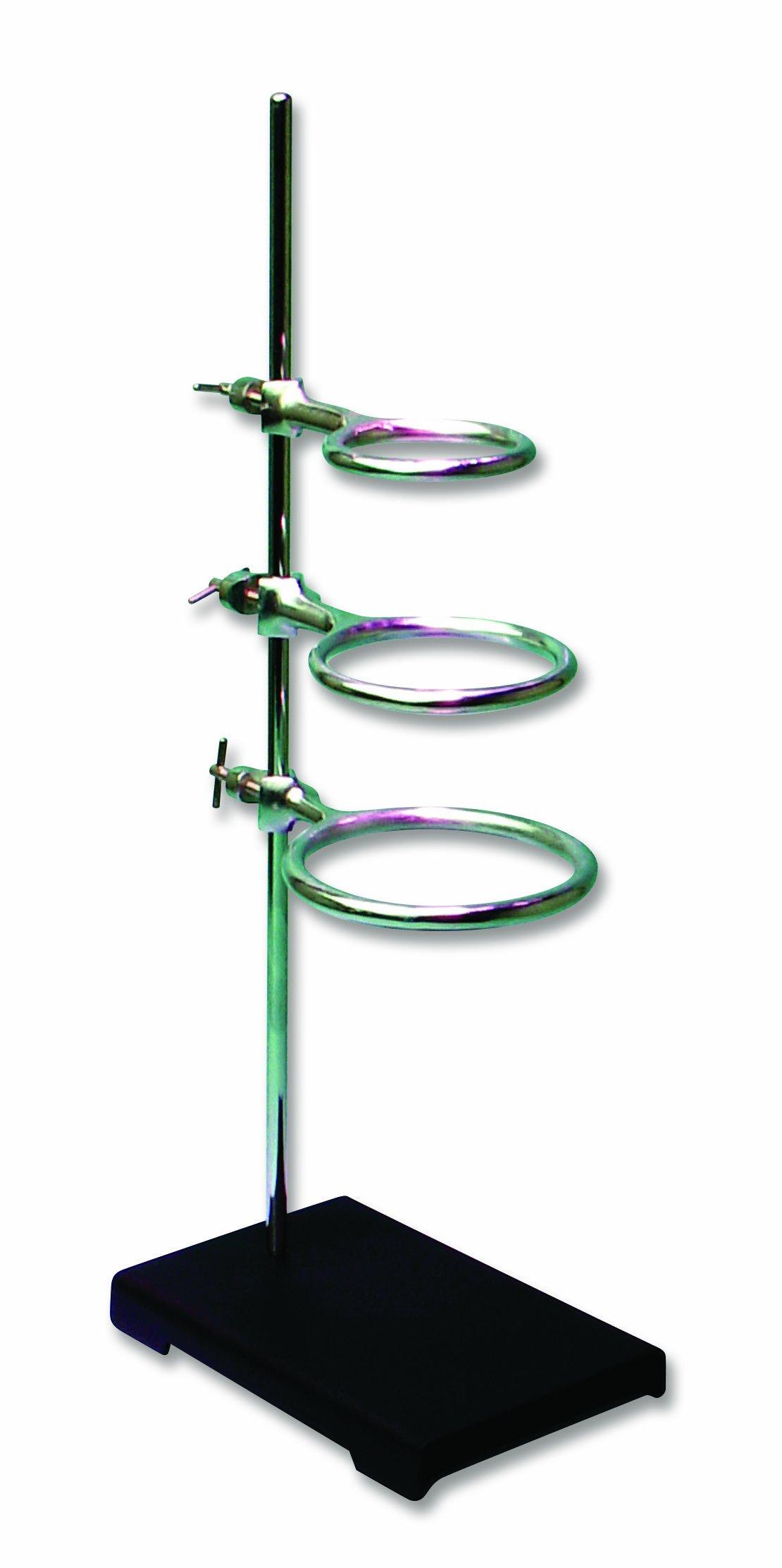 Frey Scientific 574107 4 Piece Ring Stand Set by Frey Scientific
