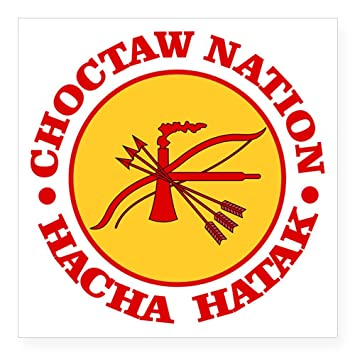 Amazon Cafepress Choctaw Nation Sticker Square Bumper