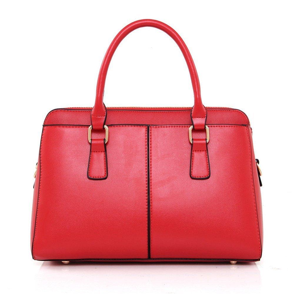GWQGZ Die Neue Dame Handtasche Handtasche Handtasche Der Trend Von Europa Und Amerika Klassischen Nähte Einzigen Schultertasche Mode Joker Satchel Gules B07G294767 Schultertaschen Online 105ef5