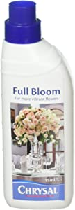 Chrysal Premium Flower Care, Full Bloom for More Vibrant Flowers, 15mL