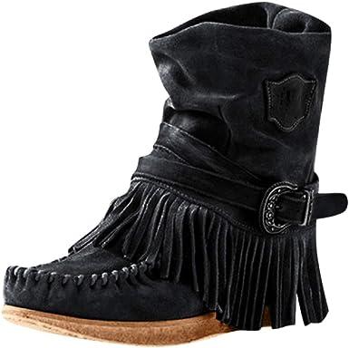 Boomboom Women's Tassel Ankle Boots