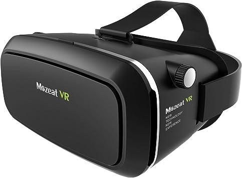 Mozeat VR Gafas 3D, Gafas VR Realidad Virtual Universal Casco VR ...