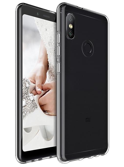 QULLOO Funda Xiaomi Redmi Note 5 / Xiaomi Redmi Note 5 Pro, Slim Funda Carcasa Case Bumper con Absorción de Impactos y Anti-Arañazos Espalda Case ...