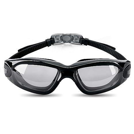 39a48c8aa39f Occhiali da Nuoto,Occhialini Piscina,Anti-Appannamento Agonistico Protezione  UV Impermeabile Regolabile Cinturino