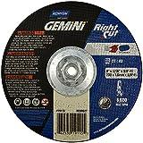 NORTON 66253019115 9X1/16X5/8-11 Gemini Type 27 Depr. Center Wheel (Price is for 10 Each/Box)