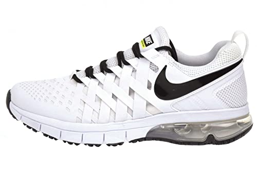 da8a3a5933 Nike Fingertrap Max TB Mens Running Shoes white black 100 uk 7 us 8 eu 41:  Buy Online at Low Prices in India - Amazon.in