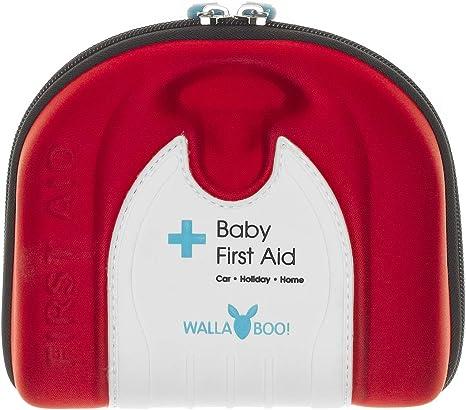 Wallaboo - Botiquín de primeros auxilios para bebé, color rojo: Amazon.es: Bebé