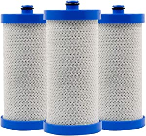 RPF-WF1CB Replacement water filter for Frigidaire WFCB,WF1CB, 240394501, NGRG-2000, RF-100, RG-100, 218710901, 218710902 Kenmore 469910 by Royal Pure Filters (3pack)
