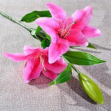 Jiale3536 Kunstliche Blumen Die Seerose Blumen Einzelne Blumen Hat
