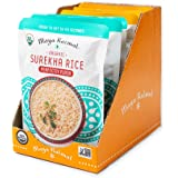 Maya Kaimal Fine Indian Foods Maya Kaimal Organic Indian Surekha Rice Perfectly Plain & Turmeric + Cumin Variety Pack, 8.5 Oz