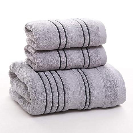 ZYJY Juego de Toallas de baño, Engrosamiento de algodón, Absorbente, Toalla de Caja