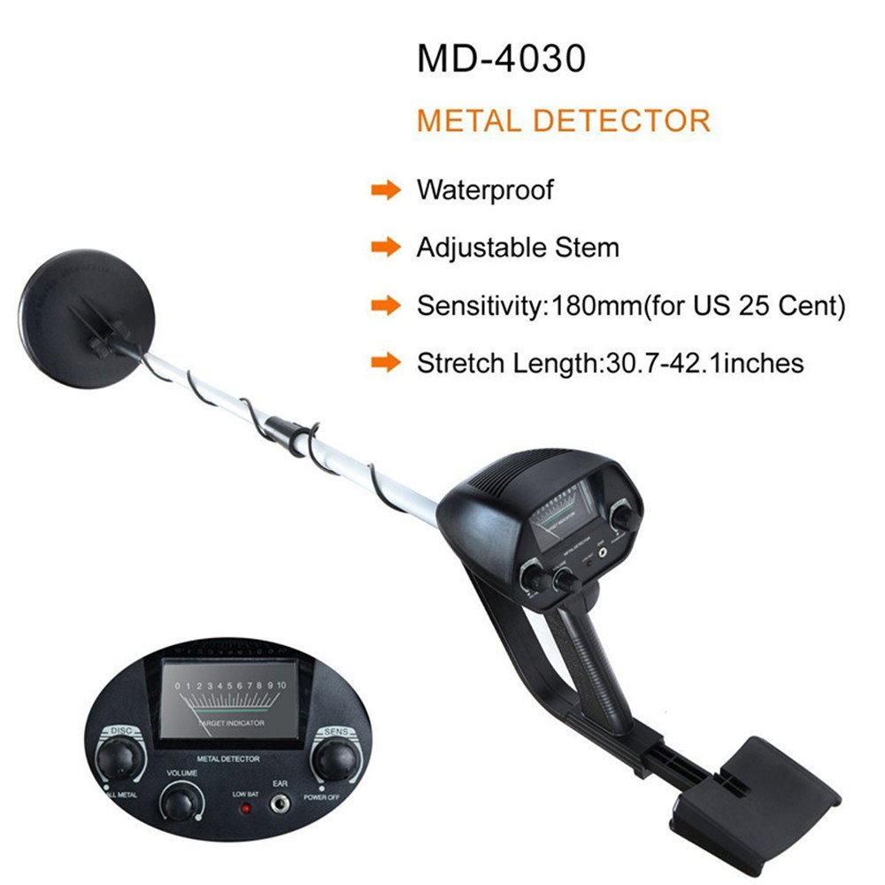 Amazon.com : Ehonestbuy Waterproof LCD Display Metal Detector Starter Kit, High-Accuracy Discrimination Treasure Hunter for Adult and Juniors : Garden & ...