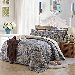hiv queen size king size full size twin size bed sheets set 4 piece bed set cotton. Black Bedroom Furniture Sets. Home Design Ideas