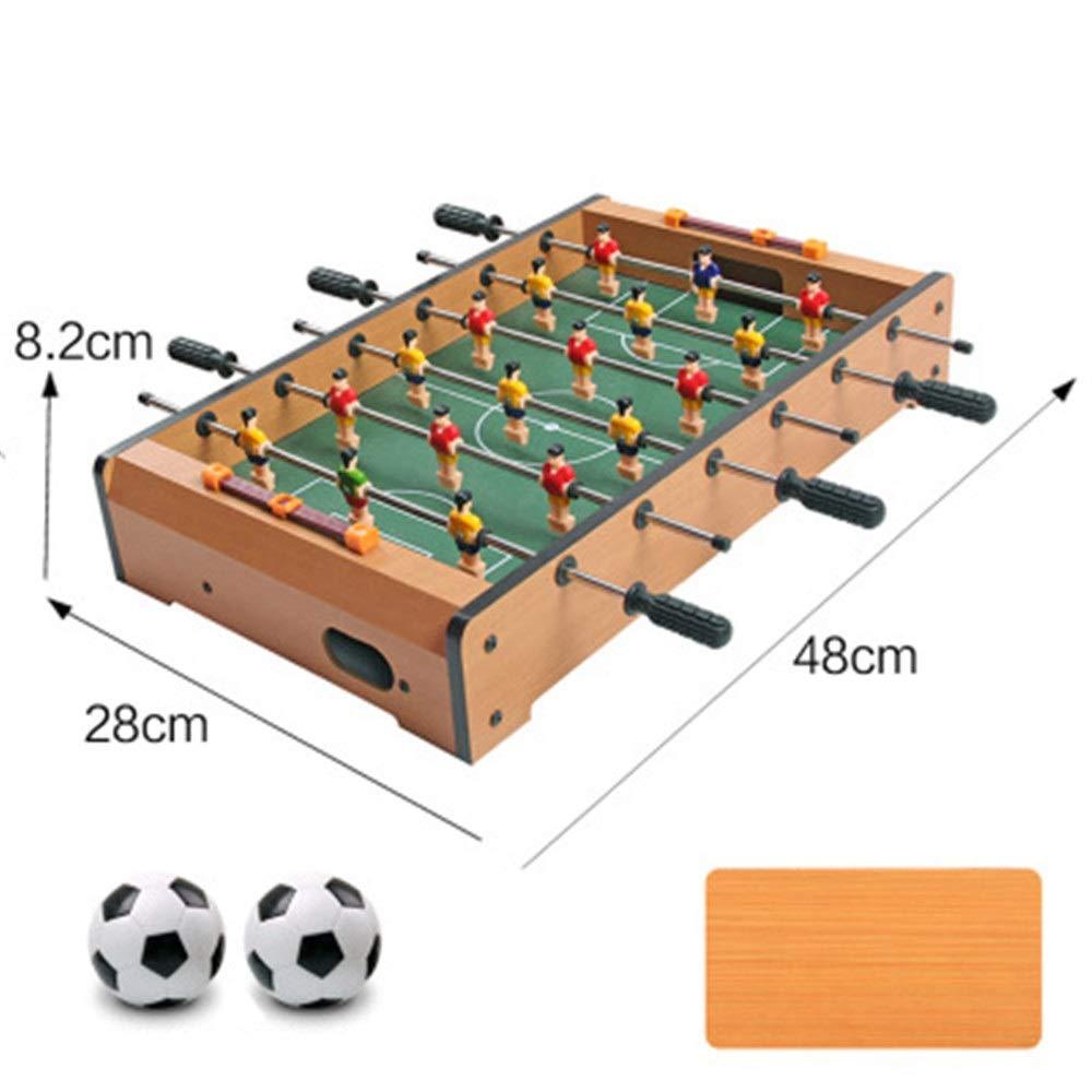Mesa de juego combo estable Mini mesa de madera portátil de fútbol ...