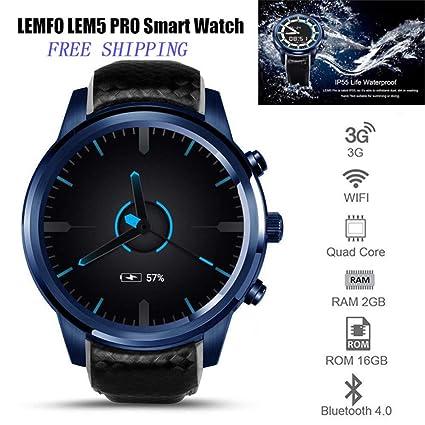 RENYAYA 3G Smartwatch 1.3GHz Quad Core 2G + 16G IPS Pantalla ...