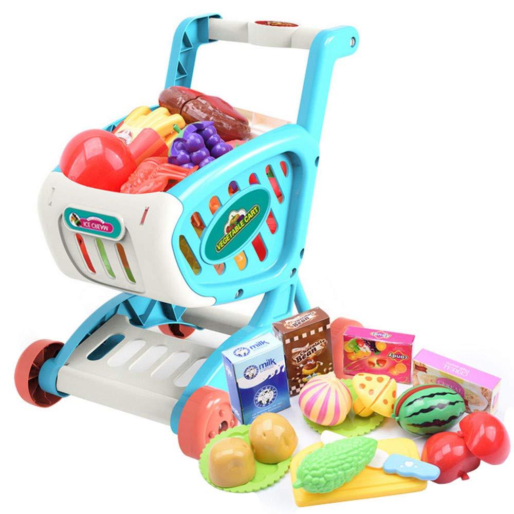 Amazon.com: ERLOU Juguetes educativos Carros de la compra de ...