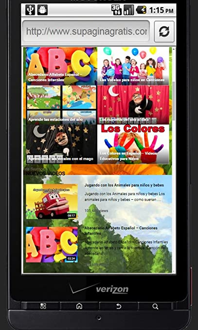Amazon.com: Videos Educativos Divertidos: Appstore for Android