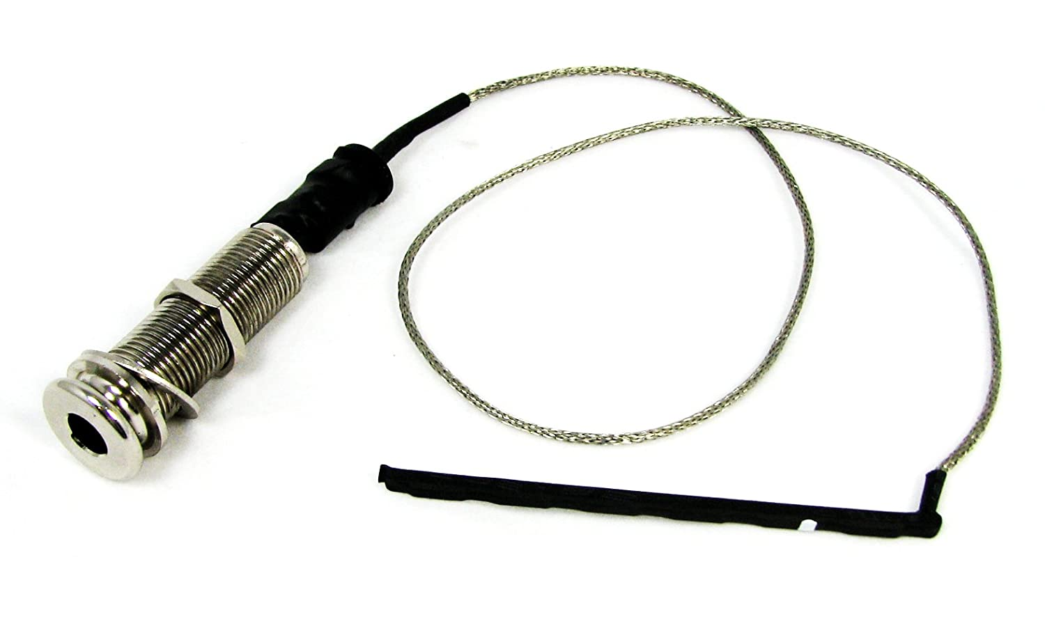 Amazon.com: Rod Piezo & Endpin Jack Harness - No Soldering Required - for  Acoustic Guitar and Cigar Box Guitar: Musical Instruments