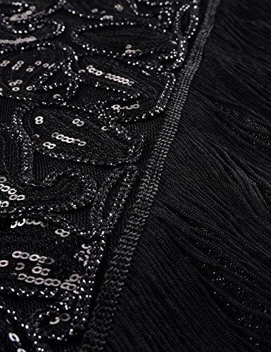 Senza Black Donna Vestito Gorgeous Pure Sera maniche kayamiya wA6EE