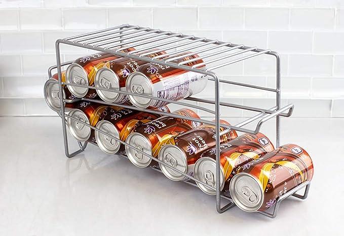 Home Basics - Dispensador de latas de acero recubierto de vinilo ...