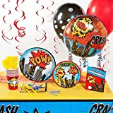 Birthday Express 252950 Superhero Comics Deluxe Party Pack
